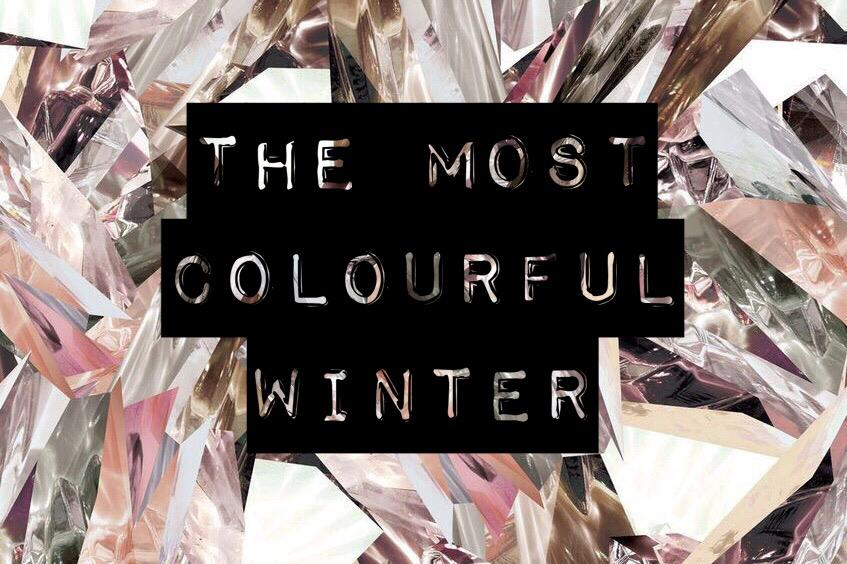 The most colorful winter